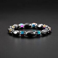 Women Lose Weight Bracelets Magnetic Gallstone Strand Bead Bracelet Jewelry ONE