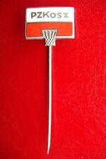 Sport silver Pin Poalnd Basketball Federation PZKosz Polski Zwiazek Koszykowki