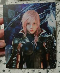 Final Fantasy XIII Lightning Returns Promotional Steelbook Steelcase NO GAME
