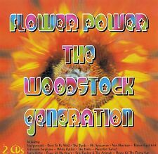 FLOWER POWER - THE WOODSTOCK GENERATION / 2 CD-SET - TOP-ZUSTAND