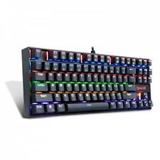 Redragon K552-R Mechanical Gaming Keyboard 87 Keys Small Compact Rainbow Backlit