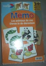 jeux de société memorie memo memory facile pour les enfants, à partir de 3 ans