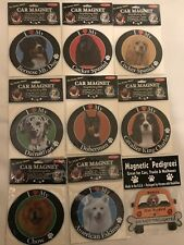 I Love My Dog / Dog on Board Various Pedigree Available Car Magnets New!