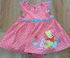 Baby Girl Disney Store Winnie The Pooh Playsuit Dress Summer Outfit Age...