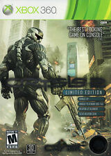 Crysis 2 Xbox 360 Great Condition Complete Fast Shipping