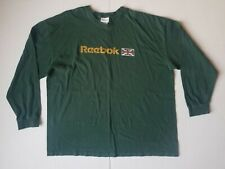 Vintage Reebok Classic UK Flag Long Sleeve Shirt Mens Size 2XL