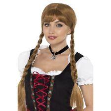 Bavarian Fraulein Choker Black Edelweiss Flower Oktoberfest Fancy Dress Accesory