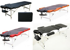 Deluxe Light Weight Portable Massage Table Bed Beauty Saloon Therapy Couch