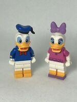 Lego Disney Castle 71040 Minifigures- Donald & Daisy Duck
