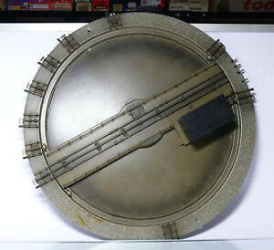 Märklin 7186 H0  Elektrische Drehscheibe für Metallgleise, 10 Gleisabgänge