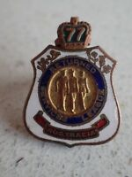 RETURNED SERVICES LEAGUE AUSTRALIA PIN BADGE 1977 (Lot 230)