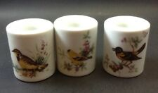 3 Large Bird Candle Holders Different Birds Funny Design Co. W Germany Vintage