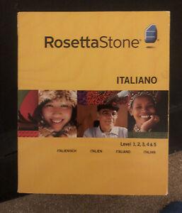 Italian Rosetta Stone Levels 1-5