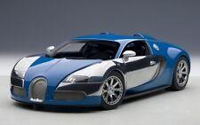 "70956 AUTOart 1:18 Bugatti Veyron ""L'Edition Santonnere"" French Blue"