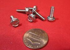 """Stainless Steel Hex Washer Head Slotted Machine Screw 6-32 x 1/2"""", 200 pcs"""