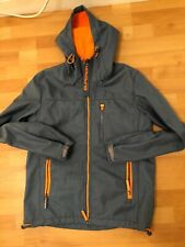 NUOVA linea uomo Superdry Hooded SD-Windtrekker Moody blu screziato