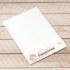 Couture Creations Foamiran Flower Making Sheets - A4 White - 10pk
