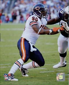 Julius Peppers Chicago Bears NFL Licensed Football Unsigned Glossy 8x10 Photo B
