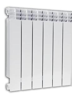 Fondital STEAM/Hot Water Radiator - European Design, ALUSTAL500 6 element