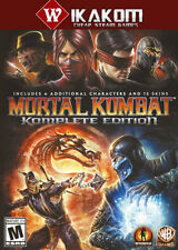 Mortal Kombat Komplete Edition Steam Digital NO DISC/BOX **Fast Delivery!**