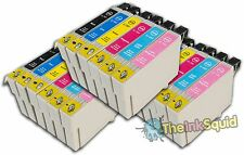 18 T0791-T0796 'Owl' Ink Cartridges Compatible Non-OEM with Epson Stylus 1410