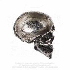 ALCHEMY GOTHIC - THE VAULT - HALF SKULL TRINKET DISH - RESIN NEW GOTH
