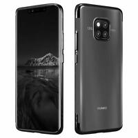 For Huawei Mate 20 Mate 10 Pro Metallic Plating Clear Gel Phone Back Case Cover