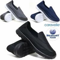 Mens Superlight Memory Foam Slip On Go Walk Summer Pump Casual Trainers Shoes Sz