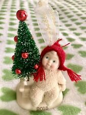 Christmas ornament Snowbabies 2015 New