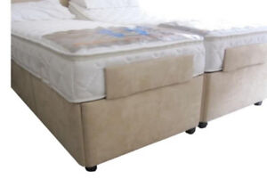 Upholstered Foot End Mattress Retainers