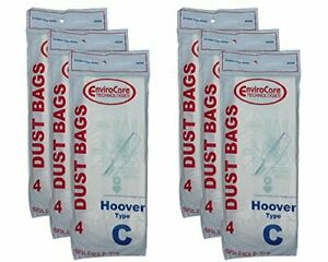 24 Hoover C Bags for Convertible Bottom Fill Convertible Lightweight OS 43651-05