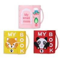 Soft Baby Non-woven Cloth Book Early Educational Newborn Development Toys Shan
