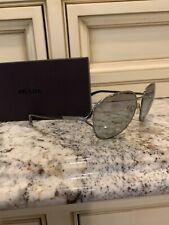 Prada Sunglasses Black SPR 51O 58-17 FAD-3M1 140 2N