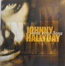 JOHNNY HALLYDAY : SANG POUR SANG - (1 TITRE) [ RARE PROMO CD SINGLE ]