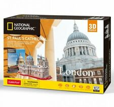 ST PAULS CATHEDRAL National Geographic 3D Jigsaw PUZZLE 107 Pieces
