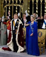 King Willem-Alexander & Queen Maxima of Netherlands UNSIGNED photograph - M5044