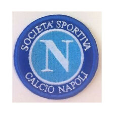 [Patch] NAPOLI CALCIO SOCIETA' SPORTIVA diam. cm 6 toppa ricamata ricamo -239