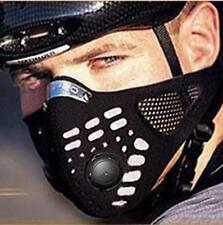 Correr anti polvo moto moto bicicleta esquí medio cara mascarilla filtroKR