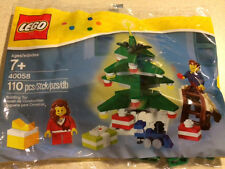 LEGO - 2013 Holiday Set - Decorating the Tree - 40058 - New in Sealed PolyBag