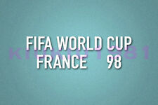 World Cup FRANCE 98 White Polyflex Patch Printing