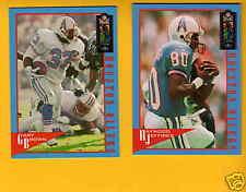 1994 NFL EXP Houston Oilers Set GARY BROWN HAYWOOD JEFFERIES