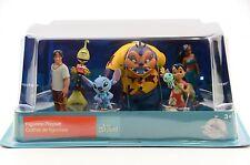 Disney Store, Lilo and Stitch Figurine Playset, 6 PVC Figure Toy Cake Topper