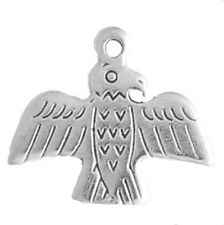 Sterling Silver 925 Thunderbird Charm For Bracelet Necklace Jewelry Jewellery