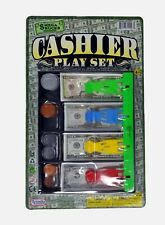 US Money Cash Toy Drawer With Bills and Coins