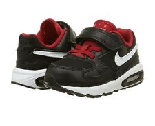 NEW NIKE Air Max ST (TDV) Toddler Boys Athletic Shoes size 7c Black/White/Red