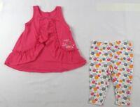 Calvin Klein baby girls' set, 2 piece Short Sleeve top & pants size 18 months