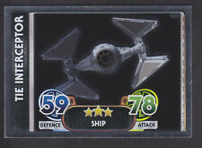 Topps Star Wars - Force Attax The Force Awakens # 181 TIE Interceptor - Mirror