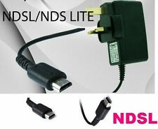 Nintendo DS Lite NDS NDSL Mains Wall Charger Adapter Power Supply Plug UK*NDSL