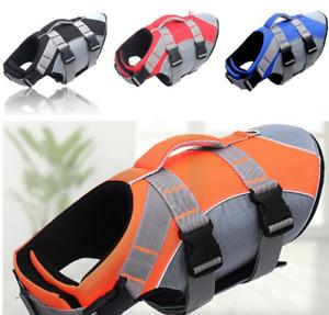 Dog Pet Summer Life Jacket Safety Vest Aquatic Swim Float Protect Vest Outdoor