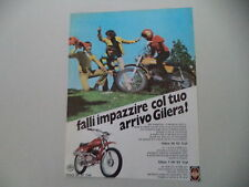 advertising Pubblicità 1973 MOTO GILERA 50 5V TRIAL